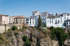 Ronda-Stadtreise in Andalusien Spanien Europa stockfotografie