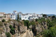 Ronda-Stadtreise in Andalusien Spanien Europa stockfotos