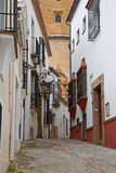 Ronda Street Stock Images