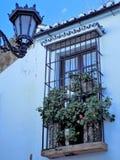 Ronda - típico-Espanha do balcão foto de stock
