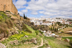Ronda Town in Andalucia Stock Image