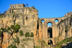 Ronda, town in the mountains Stock Photo