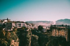 Ronda. View from Puente Nuevo Stock Photo