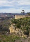 Ronda viewpoints of Mirador de Aldehuela and Balcon del Cono Royalty Free Stock Photo