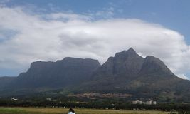 Rondabosh comm afternoon. Cape town rondabosh Royalty Free Stock Photography