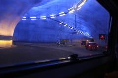 Rondabout del tunnel di Hardanger immagini stock libere da diritti