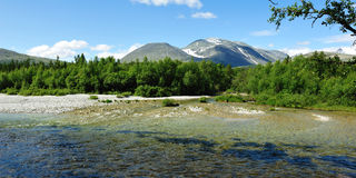 Rondane nationalpark Royaltyfria Bilder