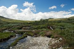 Rondane scenery Royalty Free Stock Image