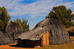 Rondavel (South Africa). A rondavel is a traditional African-style house (South Africa Stock Photography