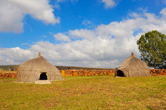 Rondavels (Afrique du Sud) Image libre de droits