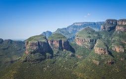 Rondavels in Zuid-Afrika Royalty-vrije Stock Afbeeldingen