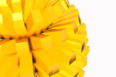 Ronde abstractie royalty-vrije stock foto's