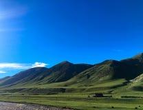 Ronde berg, Tibet Stock Foto's