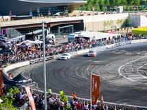 Ronde Britse GP Afwijking 1-Londen Royalty-vrije Stock Afbeeldingen