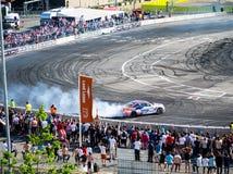 Ronde Britse GP Afwijking 1-Londen Stock Fotografie