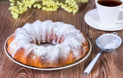 Ronde cake Stock Foto's