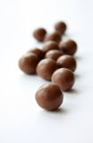 Ronde chocolade stock afbeelding