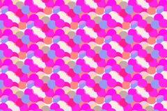 Ronde Confettien Kleurrijke Achtergrond vector illustratie