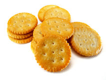 Ronde Crackers Stock Foto's