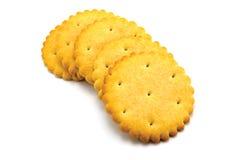 Ronde Crackers stock foto's