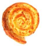 Ronde kaasbrood Stock Afbeelding