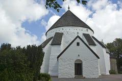 Ronde kerk stock fotografie