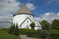 Ronde kerk Stock Foto's