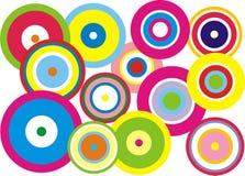 Ronde kleuren royalty-vrije stock afbeelding