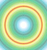 Ronde kleurrijke naadloos stock illustratie