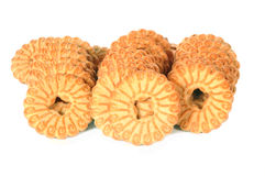 Ronde koekjes Royalty-vrije Stock Afbeelding