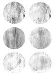 Ronde oude metaal scherpe textuur Stock Afbeeldingen