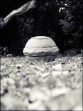Ronde steen Stock Fotografie