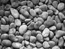 Ronde steentextuur Stock Foto