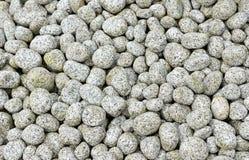 Ronde stenen voor tuin Stock Afbeelding