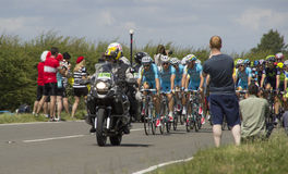 Ronde van Frankrijk 2014 Leiders Stock Fotografie