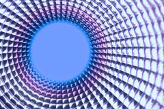 Ronde violette puntachtergrond Stock Afbeeldingen