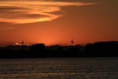 Rondeau Bay Park Sunset Stock Photos