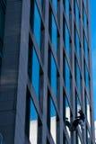 Rondella di finestra sul highrise Immagine Stock Libera da Diritti