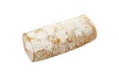 Rondin de brebis - får mjölkar ost arkivfoto