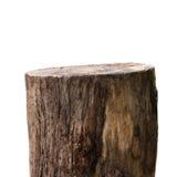 Rondin en bois ou bois de construction en bois Photos stock