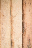 Rondin en bois pour le fond de bâtiments de construction Photos stock
