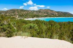 Rondinara beach in Corsica Island, France Royalty Free Stock Photography