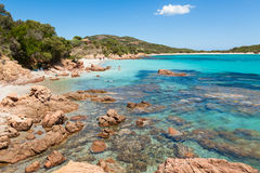 Rondinara beach in Corsica Island in France Stock Image