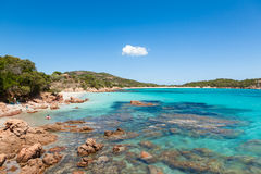 Rondinara beach in Corsica Island in France Royalty Free Stock Photography