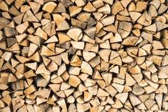 Rondins, bois de chauffage Image stock