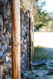 Rondins/cales Photo libre de droits