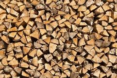 Rondins en bois Photo libre de droits