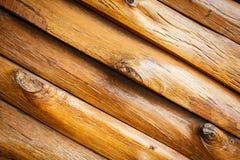 Rondins en bois Images stock