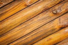 Rondins en bois Images libres de droits