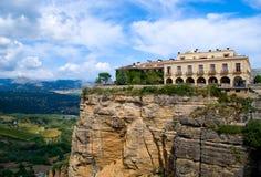 rondo Испания горы ландшафта Стоковое фото RF